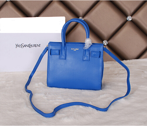 Cheap YSL BAGS 2014-Saint Laurent mini bag 2014 in blue