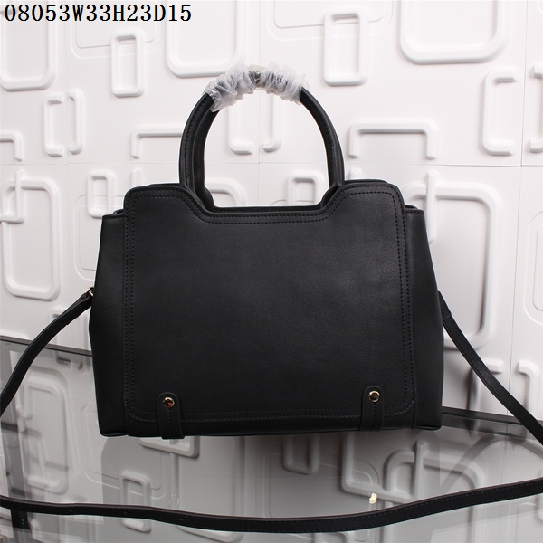 F/W 2015 New Saint Laurent Bag Cheap Sale-Saint Laurent Cabas Bag in Black Calf Leather