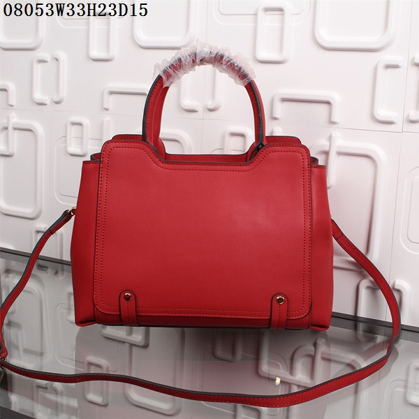 F/W 2015 New Saint Laurent Bag Cheap Sale-Saint Laurent Cabas Bag in Cherry Calf Leather