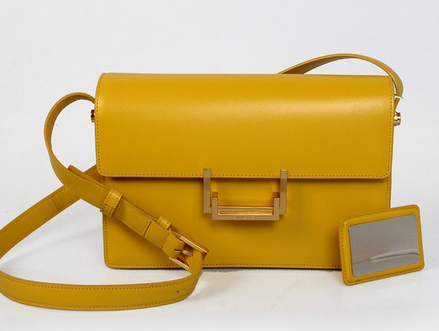 2013 YSL Classic Medium Lulu Bag in mango leather