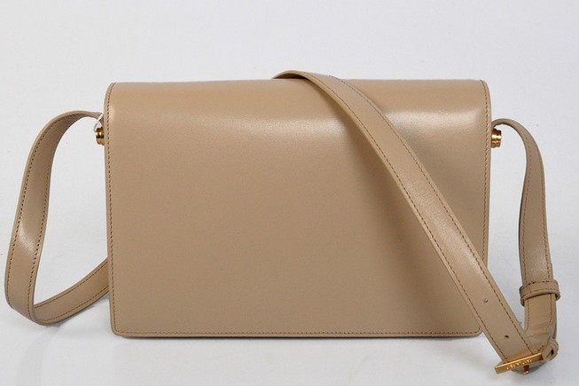 2013 YSL Classic Medium Lulu Bag in nude leather