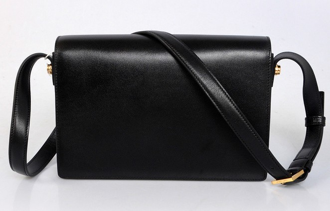 2013 YSL Classic Medium Lulu Bag in Black leather