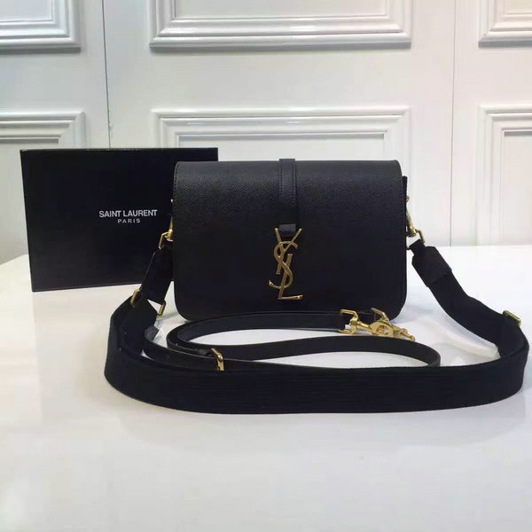 2016 A/W YSL Bag Cheap Sale-Saint Laurent Monogram Universite Bag in Black Leather