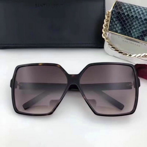 Saint Laurent New Wave 232 Betty Sunglasses with oversized rectangular frame