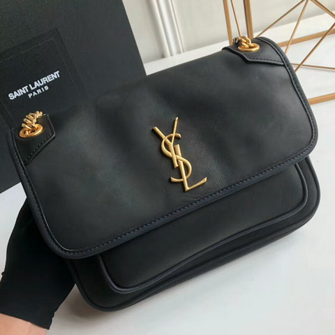 2018 S/S Saint Laurent Medium Niki Chain Bag in Calf Leather