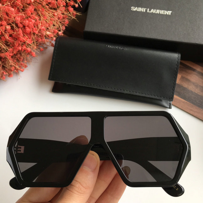 2019 Saint Laurent SL M56/K Betty Oversize Sunglasses