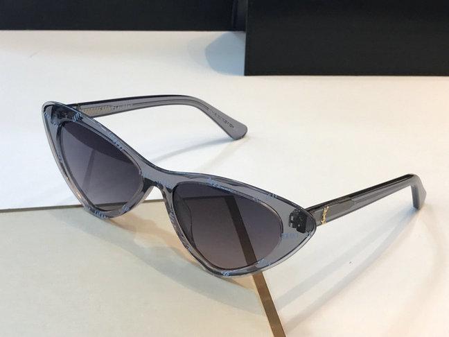 fbbf5b0349 2019 Saint Laurent Lily Cat Eye Acetate Sunglasses