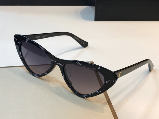 069857ea1 2019 Saint Laurent Lily Cat Eye Acetate Sunglasses