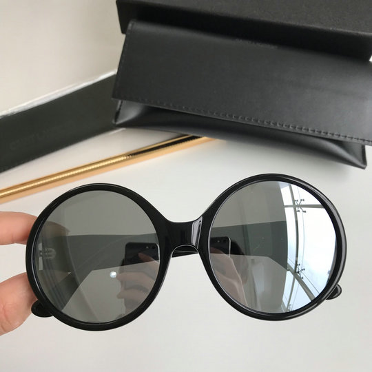 2019 Saint Laurent SL M1 Oversized Round Sunglasses