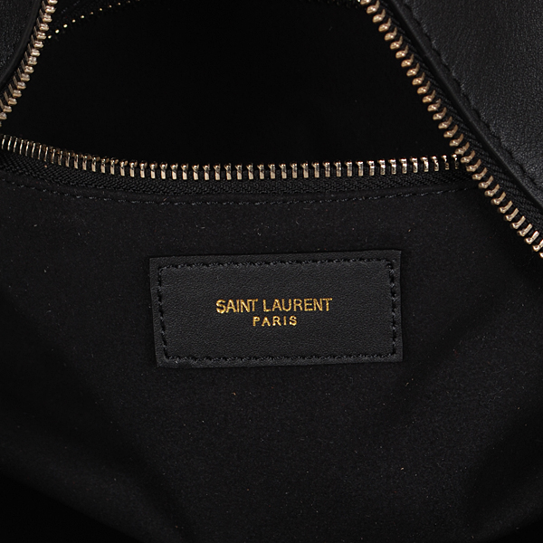 S/S 2016 Saint Laurent Bags Cheap Sale-Saint Laurent Classic Bag in Black and White Calfskin Leather