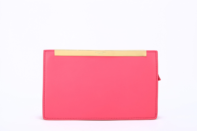 2013 Yves Saint Laurent Lutetia Clutch 30418 watermelon,Ysl Bags Outlet
