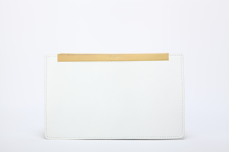 2013 Yves Saint Laurent Lutetia Clutch 30418 white,Ysl Bags Outlet
