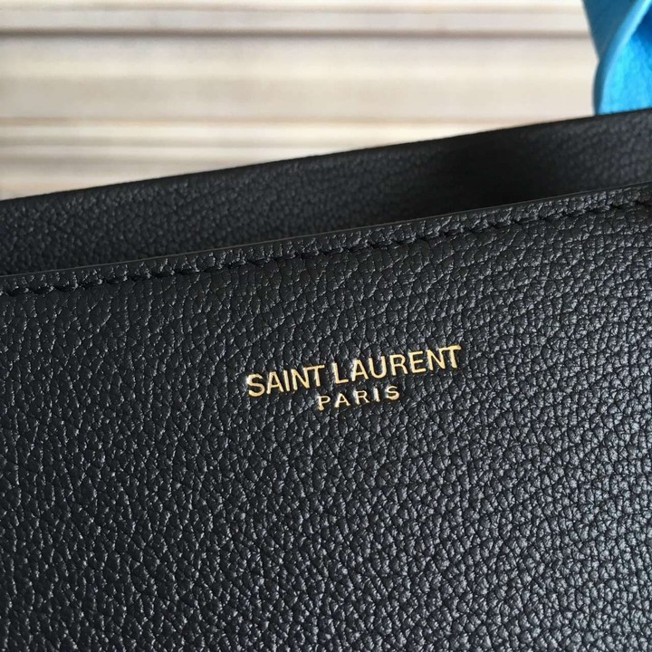 S/S 2016 New Saint Laurent Bag Cheap Sale-Saint Laurent Medium Cabas RIVE GAUCHE Bag in Multi-color Goat Printed Calf Leather