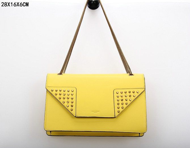 YSL Bags 2013,CLASSIC SAINT LAURENT MEDIUM BETTY CLOUS BAG IN Banana LEATHER