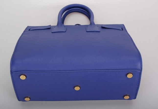 2013 Yves Saint Laurent Classic Sac De Jour bag blue,YSL BAGS SALE