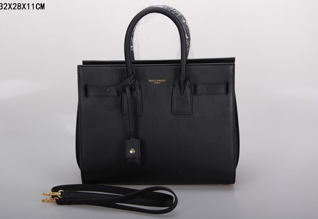 2013 Yves Saint Laurent Classic Sac De Jour bag black,YSL BAGS SALE
