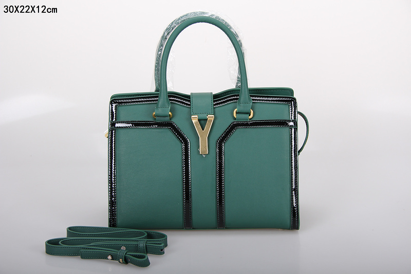 2013 new ysl tote in emerald green,YSL BAGS ON SALE
