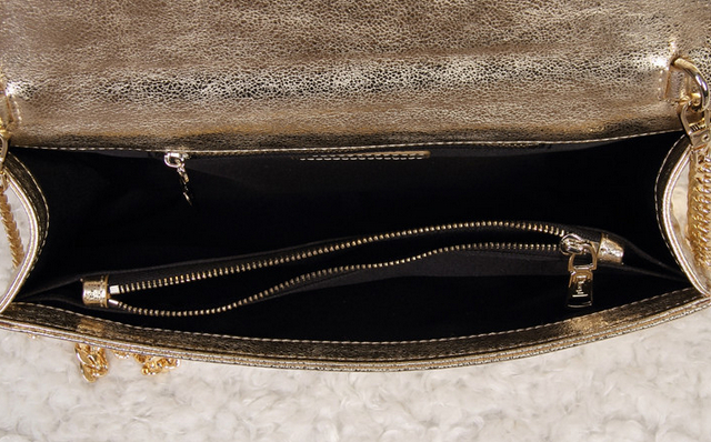 -2014 Cheap Yves Saint laurent clutch in gold,YSL Bags 2014