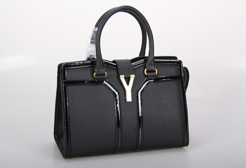 2013 Yves Saint Laurent Medium Cabas Chyc Bag 9928 BLACK