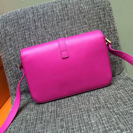 2015 New Saint Laurent Bag Cheap Sale-Saint Laurent Classic Medium Monogram UNIVERSITE BAG in Rose Leather