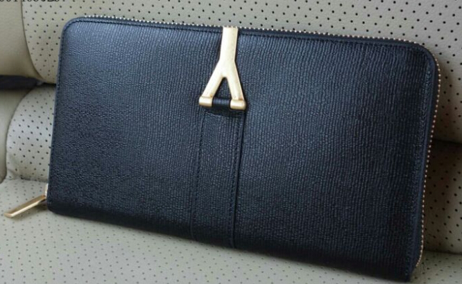 yves saint laurent bags - 2014 Cheap YSL Classic Monogramme Saint Laurent Clutch in apricot ...