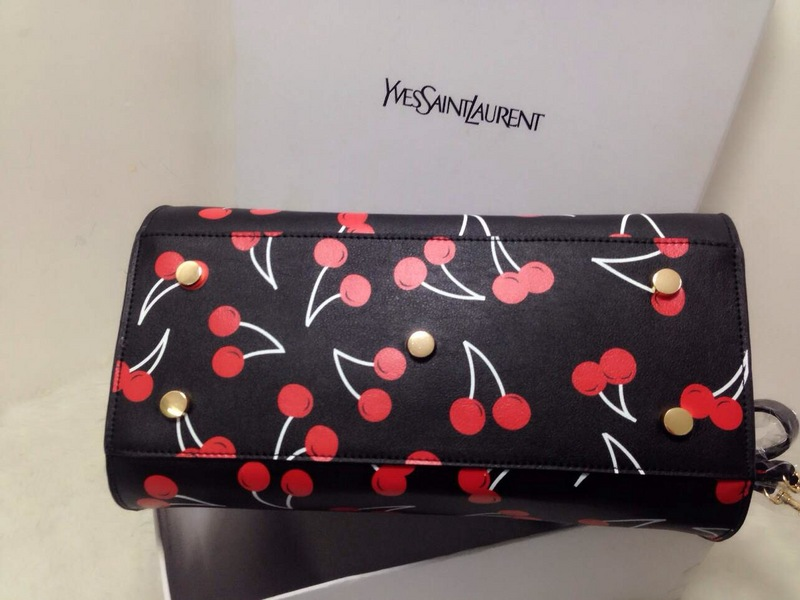 2015 New Saint Laurent Bag Cheap Sale- YSL Cherry Design Handbag Y0120B