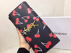 2015 New Saint Laurent Bag Cheap Sale- YSL Cherry Design Clutch Y0124B