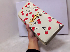 015 New Saint Laurent Bag Cheap Sale- YSL Cherry Design Clutch Y0124W