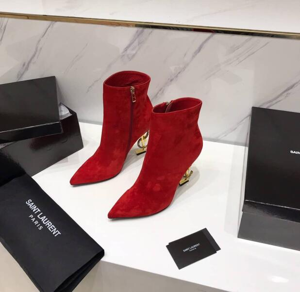 2020 Saint Laurent Ankle boots RED