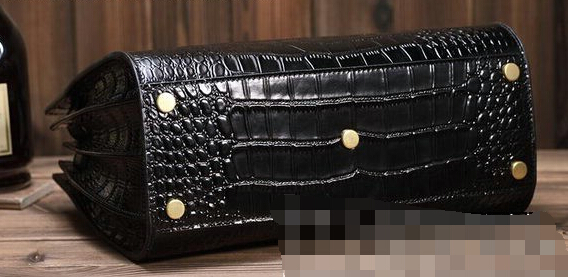 2015 New Saint Laurent Bag Cheap Sale - YSL Classic Small Sac De Jour Bag Croco Leather Y5588 Black