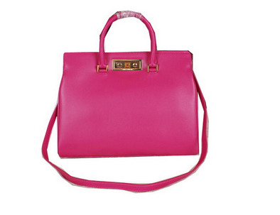 2014 Fall Winter cheap Saint Laurent Medium Trois Clous Tote Bag Y7118 Rose