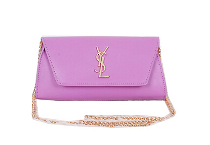 2014 New Saint Laurent Small Betty Bag Calf Leather Y7139 Purple