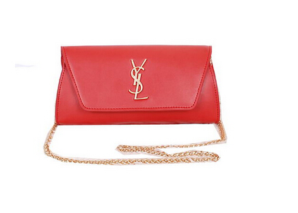 2014 New Saint Laurent Small Betty Bag Calf Leather Y7139 Red