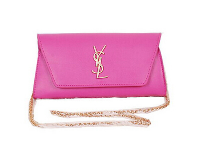 2014 New Saint Laurent Small Betty Bag Calf Leather Y7139 Rose