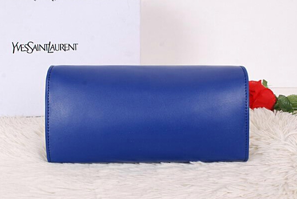 2014 New Saint Laurent Small Betty Bag Calf Leather Y7139 Royal