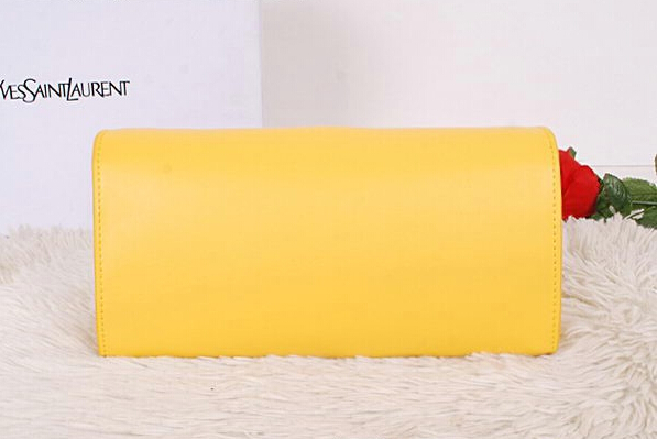 2014 New Saint Laurent Small Betty Bag Calf Leather Y7139 Yellow
