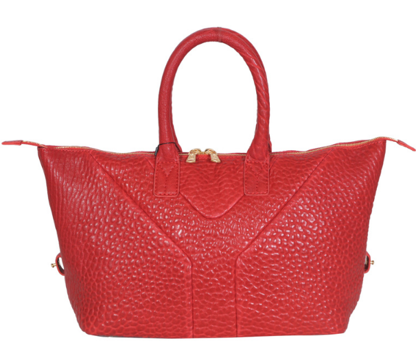 YSL 2013,Cheap Yves Saint-laurent Medium Easy Satchel in red
