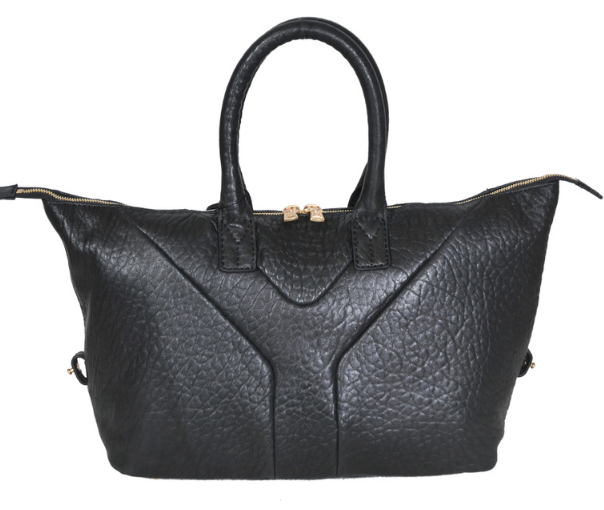 YSL 2013,Cheap Yves Saint-laurent Medium Easy Satchel in black