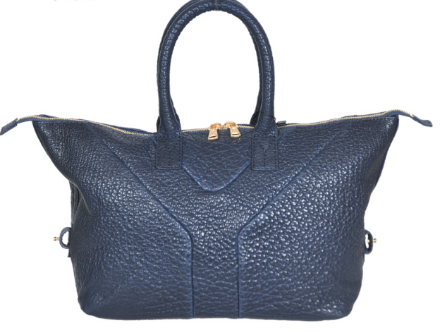YSL 2013,Cheap Yves Saint-laurent Medium Easy Satchel in dark blue