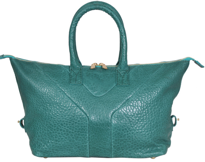 2013 YSL Spring,Cheap Yves Saint-laurent Medium Easy Satchel in green