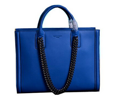 2014 Cheap Saint Laurent Yves - Classic Tote Bag YSL0710 Blue