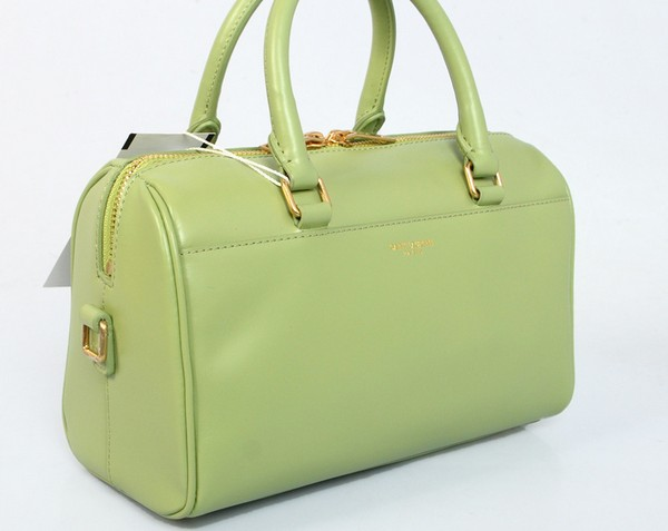 2014 Discount YSL bags,Classic Duffle 6 Bag in GREEN Leather - Click Image to Close