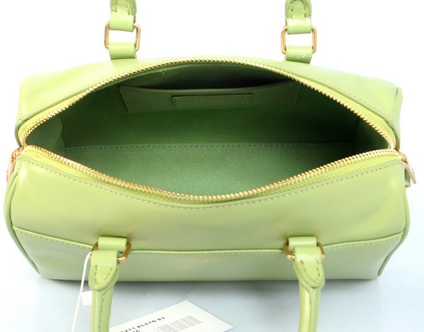 2014 Discount YSL bags,Classic Duffle 6 Bag in GREEN Leather