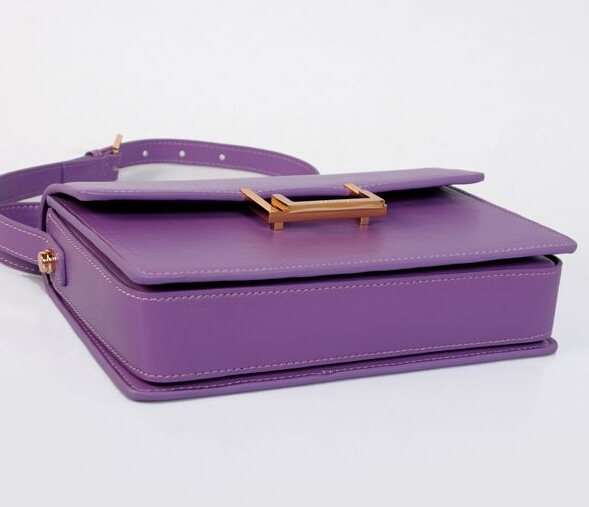 2015 Cheap YSL Out sale with Free Shipping-Saint Laurent Classic Medium Lulu Leather Bag Purple