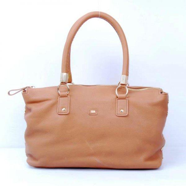 2012 Cheap Yves Saint Laurent Easy Bag In Apricot Textured Leather 22714