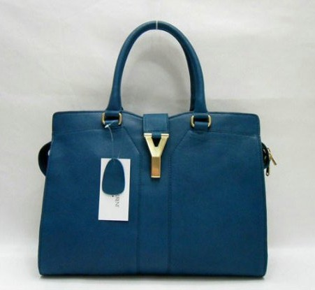 Ysl Large Cabas Chyc Leather Top Handle Large Bag 99967 - Click Image to Close