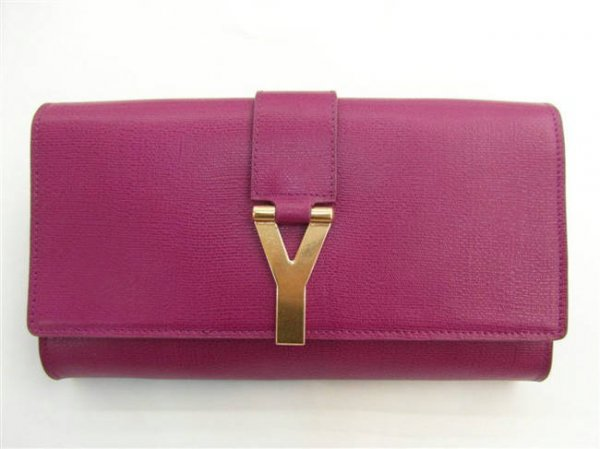 YSL Bags 2013-Yves Saint Laurent Clutch In Purple 158308