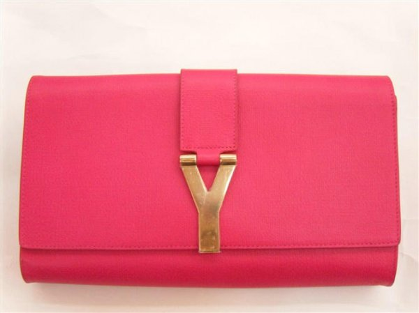 YSL Bags 2013-Yves Saint Laurent Clutch In Red 158293