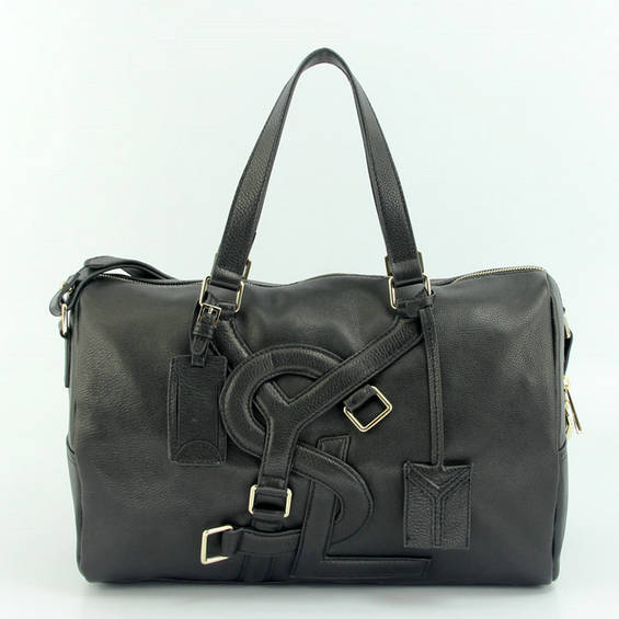 2012 Cheap Yves Saint Laurent Easy Bag In Black 159593