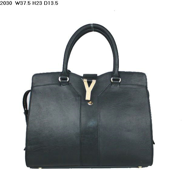 YSL Cabas 2012-Yves Saint Laurent Cabas Chyc In Black 754320